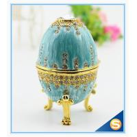 Best easter egg wedding gift /wedding gift / Easter egg/ blue colour with diamond wholesale