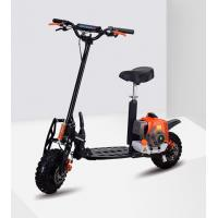 China Two Stroke Folding Gasoline Scooters With Disc Brake And 3 Speeds Shifter 71cc Power Scooter Speed 55KM/H on sale