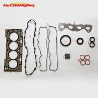 For CITROEN C3 C2 C4 1.6 16V Overhaul Package Auto Parts Cylinder gasket sets Full Set Complete Engine Gasket 0197.P4