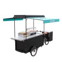 Best Electric Scooter Food Cart Easy Cleaning With Large Product Operation Space wholesale