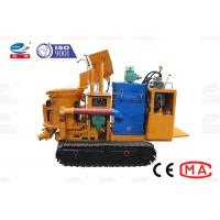 China Dry Damp Concrete Shotcrete Machine Low Dust With Compact Structure on sale