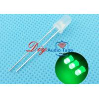 Best 5MM Diffused DIY LED Diode Green Lighting With 120 Degrees Viewing Angle wholesale