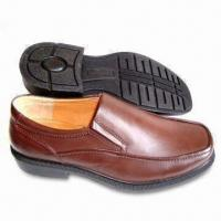 China Men's Dress Shoes Made of PU on Upper/Outsole/Lining, OEM and ODM Orders are Accepted on sale