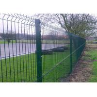 China Professional Plastic Coated Garden Wire Mesh Fencing With Heavy Steel Structure on sale