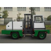 Best 2000kg Lifting Capacity Electric Side Loader Forklift Mast Height 3.5 Meter wholesale