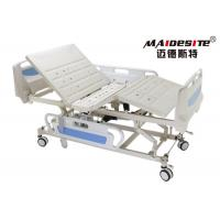 Buy cheap ABS Side Rail Hospital Electric Bed , Adjustable Medical Beds OEM Available from wholesalers