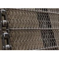 China Oven Use 304 Stainless Steel Chain Mesh Belt High Temperature Resistant on sale