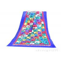 Best Reactive Large Snakes And Ladders Game Beach Towel Printing 400gsm wholesale