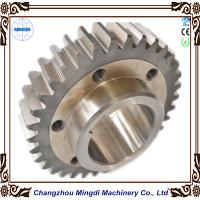 China Customized Transmission Parts Steel Spur Gear / Cylindrical Gear for Paper Shredder on sale