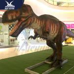 Best Huge Outdoor Equipment Animatronic Dinosaur Model For Children Park wholesale