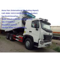 40T HOWO A7 Dump Truck With 1 Sleeper 6x4 10tires 20m3 Bucket Capacity with Havy