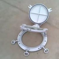 Best Round Shape Marine Windows Weathertight Openable Portlights With Storm Cover wholesale