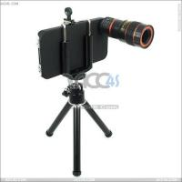 Best 8x Zoom Optical Telescope Lens with Tripod for iPhone 4 4s P-Iphn4slens001 wholesale