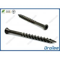 Best Black Oxide Stainless Steel Square Drive Trim Head Deck Screw Type 17 wholesale