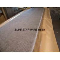 Best Square Wire Mesh Mist Eliminator Stainless Steel / MONEL Demister Pad In Air Conditioner wholesale
