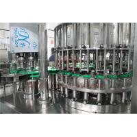 Touch Screen Glass Bottle Filling Machine Automatic Rotary High Efficency