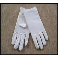 Best Wholesale top quality white/black color spandex gloves for jewerllery/Ceremonial wholesale