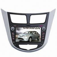 Best Car DVD Player for Hyundai Verna Special Touch Screen, GPS Navigation, Built-in AM/FM Tuner wholesale