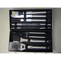 Best 10pcs stainless steel handle BBQ tools in a case wholesale