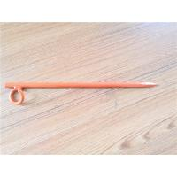 China Durable Building Fasteners Powder Coating Welded Ring 16mm Diameter Tent Nail / Pegs on sale