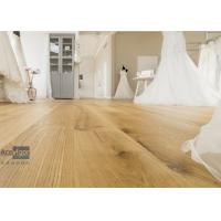 Best Bespoke 20/6 x 300 x 2200mm ABC grade Oak Engineered Flooring for Royal Wedding Dress Pavilion in UK wholesale