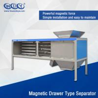 Buy cheap Energy Saving Powder Magnetic Separator Machine With Vibrator 380VAC Input from wholesalers