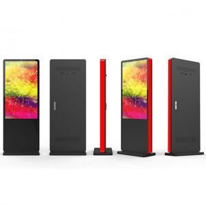 Best AC240V 5ms Floor Standing Lcd Kiosk High Brightness FCC wholesale