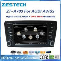 Best Touch screen car dvd player for Audi A3/S3/RS3 2003-2012 car radio gps with DVD/GPS/Radio/3G/Visual 10 dics wholesale