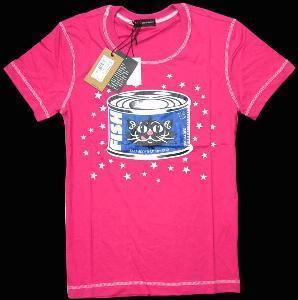 Best Brand Fashion T-Shirt, Men Tee Cotton Cat Canned T Shirt wholesale