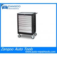 Best 7 Drawer Rolling Portable Tool Chest Black Durable For Industrial Use wholesale