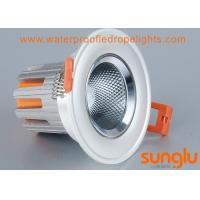 Best Durable Tiltable 7 watts LED Downlight , Anti Glare Round LED Downlight For Street wholesale