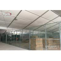 Cheap Snow Resistance Steel Structure Prefabricated Emporary Storage Tent for for sale
