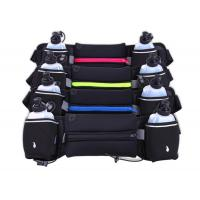 Best Neoprene Sport Waist Pouch With Two Bottles Pockets Thin Lycra Material wholesale