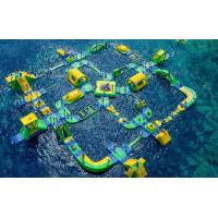China Popular Outdoor Inflatable Floating Water Park Games For Adults Bounce House Amusement Park on sale