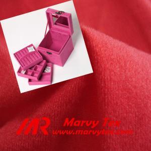 China jewelry box lining fabric yarn dye nylex fabric on sale