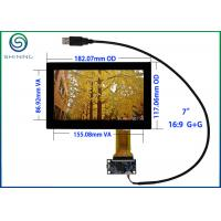 "Best USB 7"" Capacitive Touch Screen ITO Glass Cover Lens Multi-Touch Panel For Intelligent Appliances wholesale"