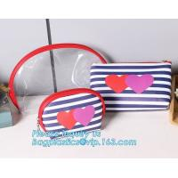 Best Eco Shopping Bags Toiletry Kits Pvc Zipper Pouch Makeup Cosmetic Travel Organizer wholesale