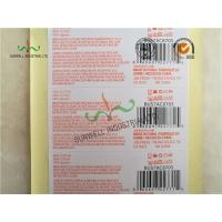 Best Custom Printed Labels With UPC Barcode Strong Adhesive For Clothes Packing wholesale