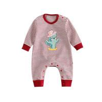 Best Cute Printed Cotton Infant Baby Clothes Long Sleeve Baby Daily Clothes wholesale