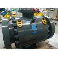 China DBB Anti - Static MSSP Flanged Ball Valve / Trunnion Mounted Ball Valve on sale