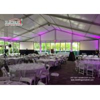 Best Commercial Outdoor Glass Wall  Event Tents Catering Rental Tent Roof Linning wholesale