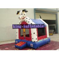 Best Customized Color Safety Dog Design Inflatable Commercial Bounce Houses Animal Themed For Kids wholesale