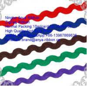 Best Zigzag Ribbon,Polyester Ribbon,Ricrac Ribbon,Wave Ribbon,Ribbon lace Trimming,Nylon Ribbon,Clothing Accessories wholesale