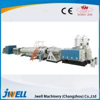 China Jwell Steel Reinforced Spiral Pipe PVC Pipe Making Machine on sale