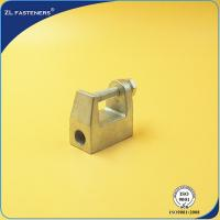 Best Zinc Plated Cast Steel Cable Clamps , Malleable Iron Beam Clamp M6 ~ M16 wholesale