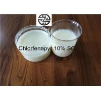 Best Reliable Chemical Insecticides 10% SC Chlorfenapyr 100 - 101°C Melting Point wholesale