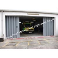 Best External Folding Panel Doors Horizontally Folding Garage Doors With Custom Opennings wholesale