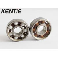 China Open Smooth Rotation Full Ceramic Skate Bearings , Light Weigh Skateboard Wheel Bearings on sale