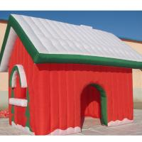 Best Factory Customized Christmas Holiday Decoration Fabric Inflatable Toy House wholesale