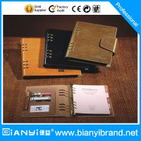 Best Business PU Cover loose leaf notebook wholesale